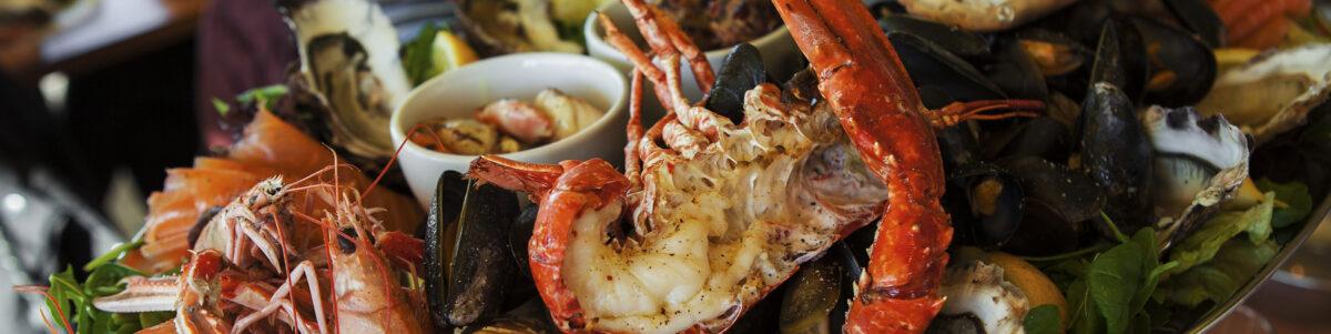 Image of seafood platter