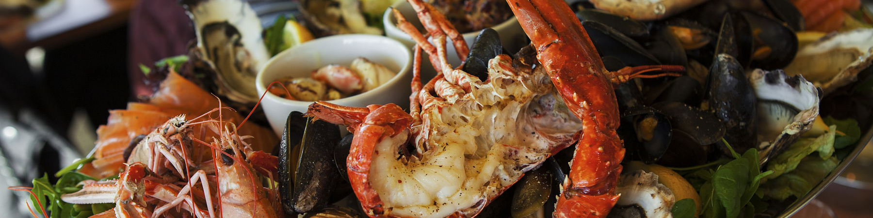 Image of seafood platter